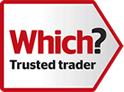 Which? Trusted Trader Logo